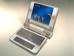 $100 Laptop - open