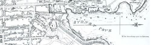 Tank Stream & Circular Quay 1836