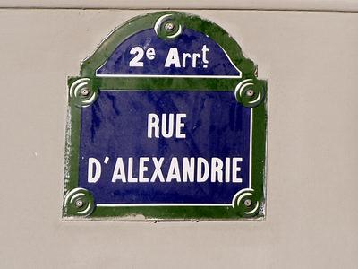 Rue d'Alexandrie