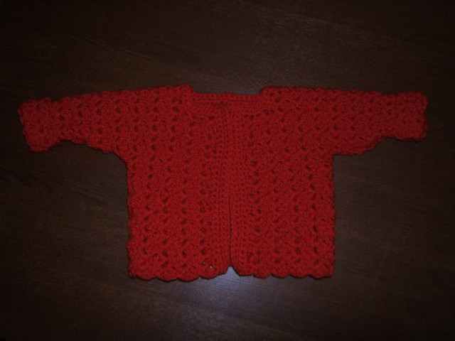 Cat's One Piece Wonder, Baby Sweater/Cardigan