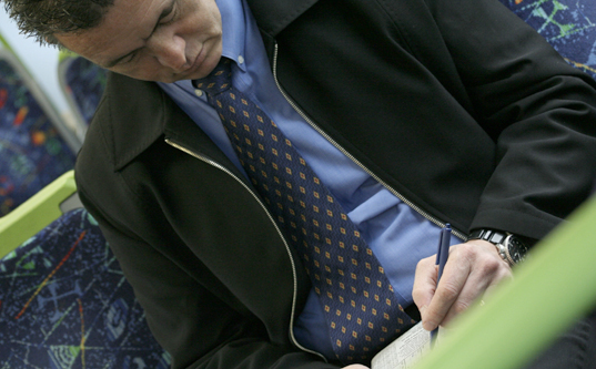 Sudoku on the Melbourne Metro
