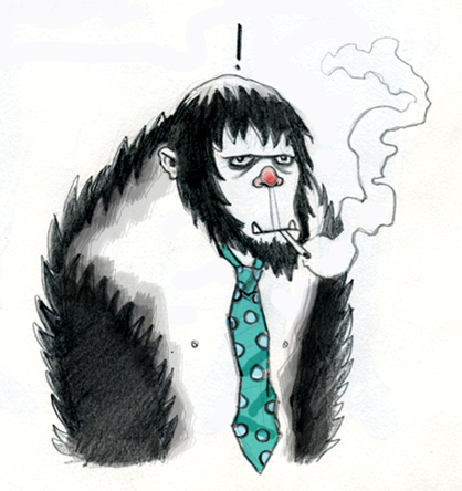 chain-smoking bigfoot