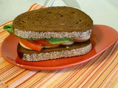 Michigan Apple & Tomato Sandwich