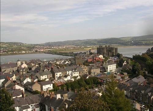 Conwy et le chateau