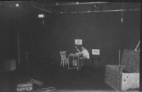 Photo of Gren Wilson onstage