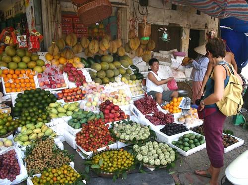 Street Market, Hanoi