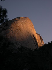 Back of Half Dome in the Morning