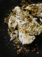 cod with pistachio meal