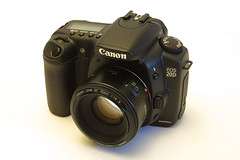 canon 20d digital slr camera