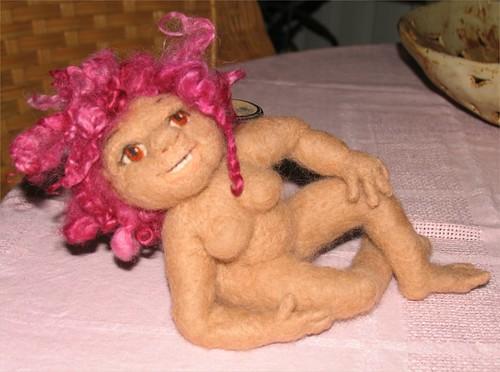 needlefelt doll