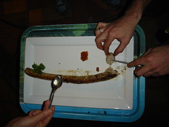 kade made a sausage