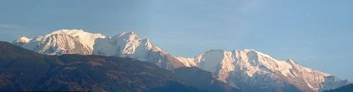 panoramic - Mont-Blanc