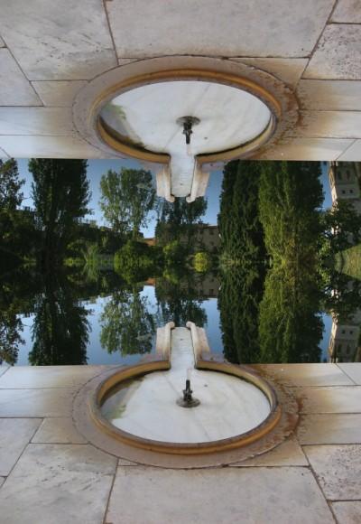 Reflejo en estanque Alhambra