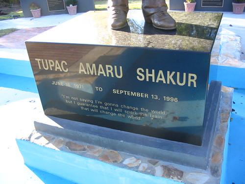 tupac funeral image