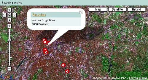 Open Wifi hotspots in Brussel