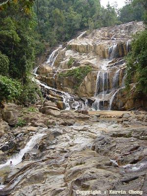 Pandan-waterfall