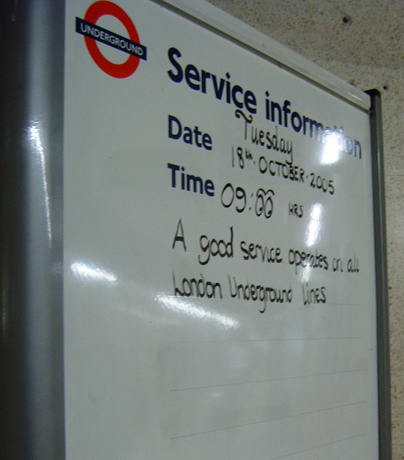 An end to Northern Line Problems?