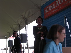 E.L. Konigsburg at the Book Festival