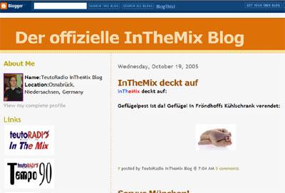 Der offizielle InTheMix Blog