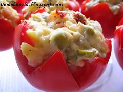 amerikan salatalı domates