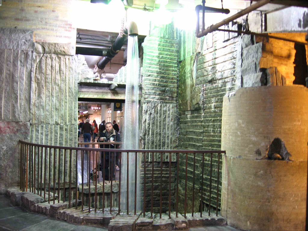 Chelsea Market 'waterfall'