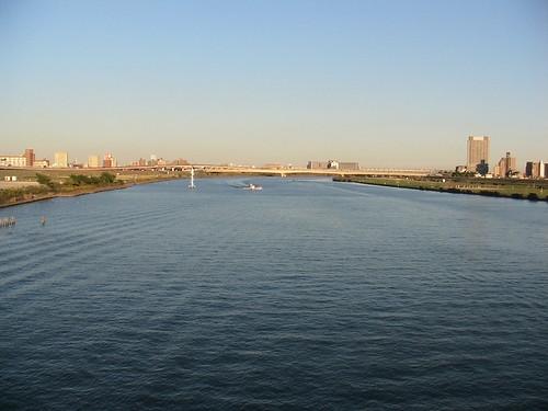 Arakawa towards Tokyo