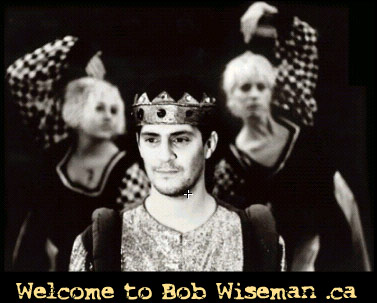 Bob Wiseman, free and legal mp3s available below