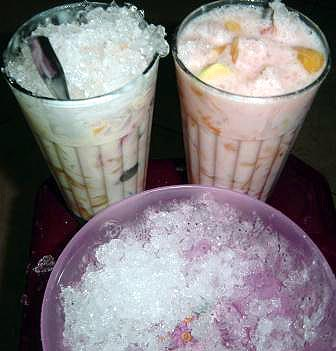 ice and mix