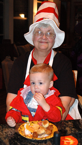 Nana and Noah Halloween 2005