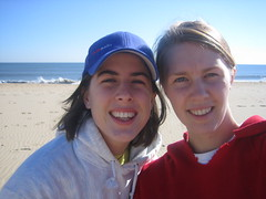 Buddies on the beach
