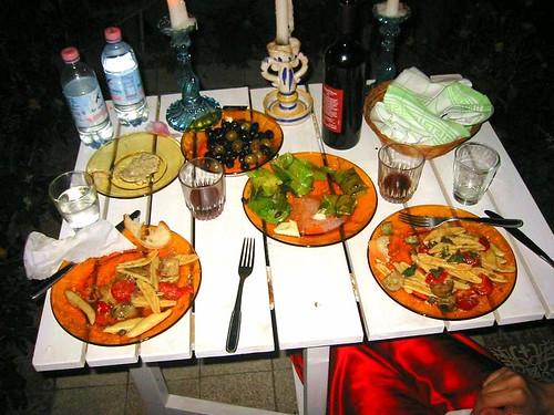 logan made dinner after herculaneum