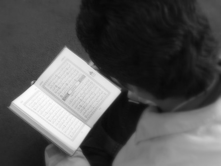 Gambar kawan baca al-Quran.