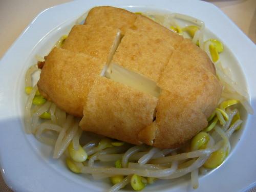 鏞記燒鵝的金鑲豆腐