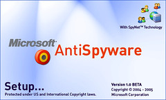 그림 24 - Microsoft AntiSpyware 1.0 Beta