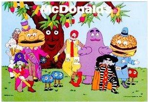 mcdonalds characters