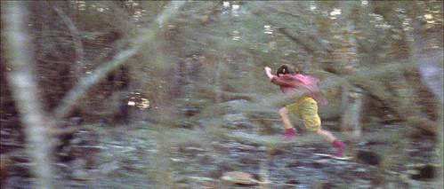 Blake running