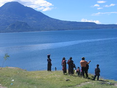 Locals at Lago Atitlan