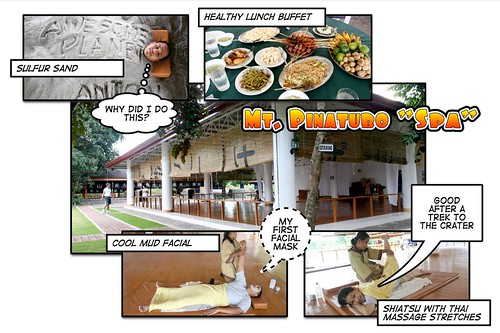 Mt. Pinatubo Spa Experience