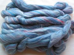 Silk/Merino fiber