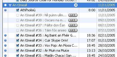 An tImeall ar iTunes