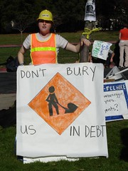Ahnika, from UCSF, doesn't want to be buried in debt