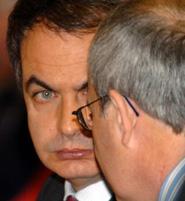 José Luis Rodríguez Zapatero con José Montilla