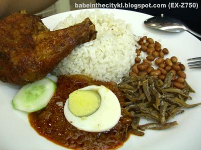 kluang station nasi lemak