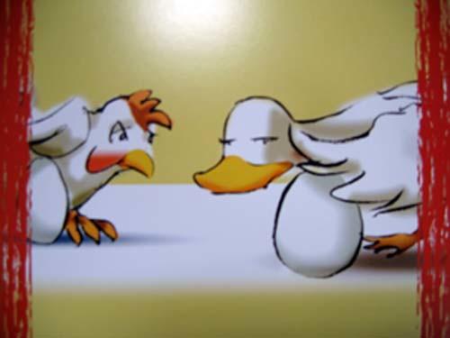Duck *rolling eyes*