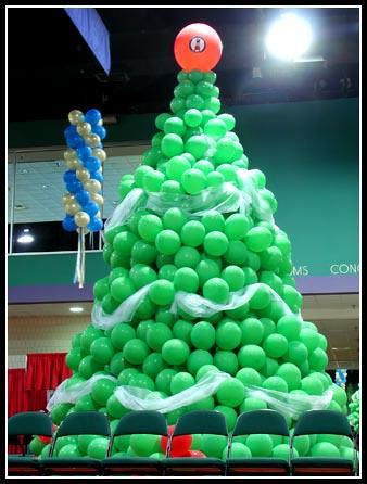 Balloon Christmas Tree #1