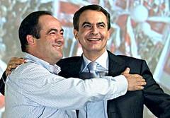 Zapatero y Bono
