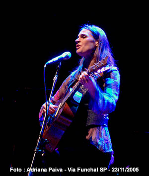 Show da cantora em São Paulo - Foto por Adriana Paiva