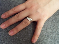 Amy's (blurry) new ring