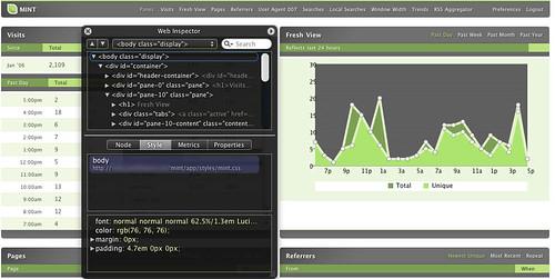 Mint in WebKit
