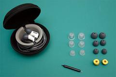 Shure E3C y accesorios